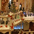 Disney's Grand Floridian Resort and Spa - Gingerbread House in The Grand Floridian lobby - all of the figures are made of Chocolate and are hand painted.