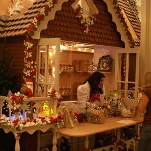 13 of 15: Disney's Grand Floridian Resort and Spa - The gingerbread house also has a fully functional shop where guests can buy treats.