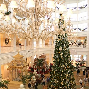 1 of 32: Disney's Grand Floridian Resort and Spa - Grand Floridian holiday decorations 2009