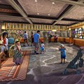 Disney's Polynesian Resort - Concept art for the new Grand Ceremonial House lobby at Disney's Polynesian Resort