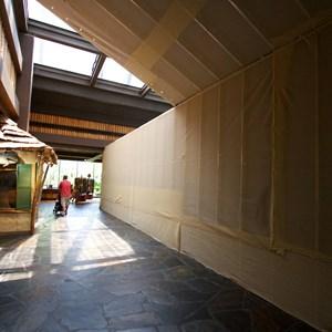 7 of 8: Disney's Polynesian Resort - Polynesian Resort lobby construction