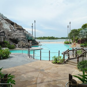 1 of 4: Disney's Polynesian Resort - Nanea Pool area closed for refurbishment