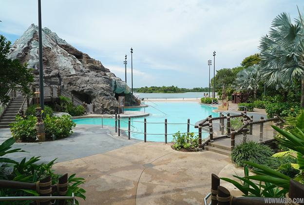 Nanea Pool area closed for refurbishment