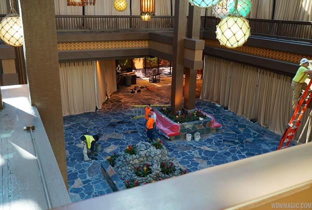 First look at the new lobby area