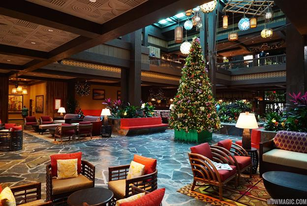 New Polynesian Village Resort Lobby
