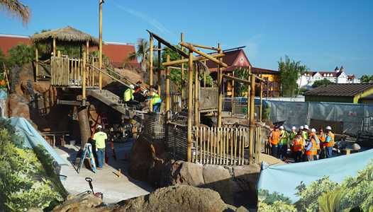PHOTOS - A look at the new Lava Pool at Disney's Polynesian Village Resort