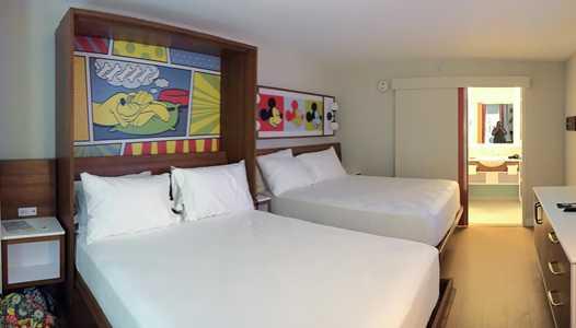 PHOTOS - New look guest rooms at Disney's Pop Century Resort