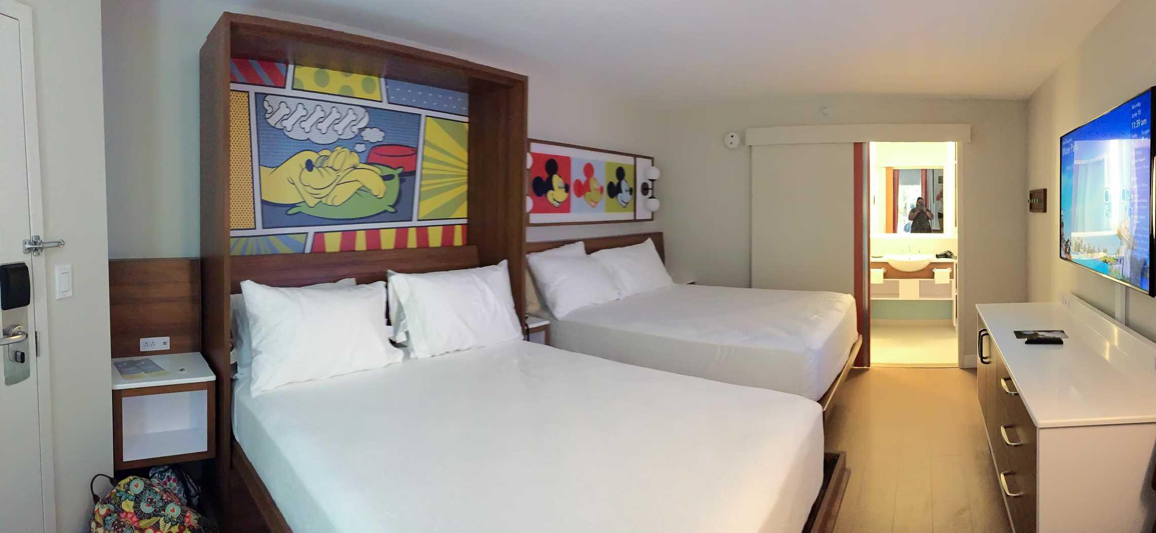 2017 Pop Century Resort room refurbishment