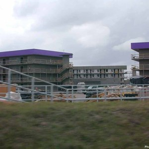 1 of 3: Disney's Pop Century Resort - Latest Pop Century Resort construction