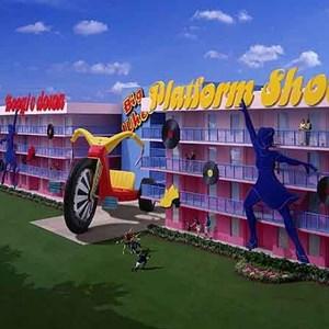 1 of 1: Disney's Pop Century Resort - Pop Century Resort concept art