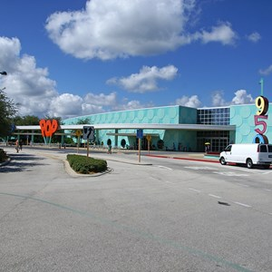 3 of 24: Disney's Pop Century Resort - The entrance to the registration check in area