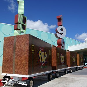 4 of 24: Disney's Pop Century Resort - Luggage storage