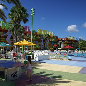 1 of 10: Disney's Pop Century Resort - Hippy Dippy Pool