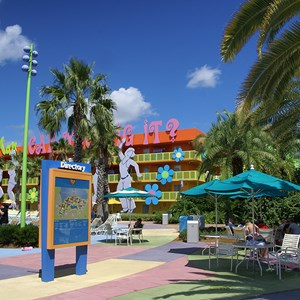 2 of 10: Disney's Pop Century Resort - Hippy Dippy Pool