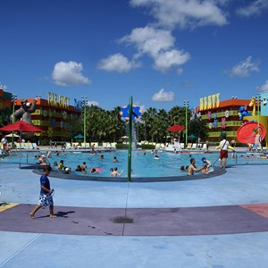 3 of 10: Disney's Pop Century Resort - Hippy Dippy Pool