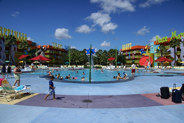 Pop Century Resort Hippy Dippy Pool