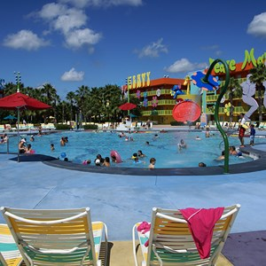5 of 10: Disney's Pop Century Resort - Hippy Dippy Pool