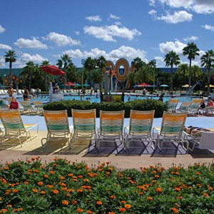 9 of 10: Disney's Pop Century Resort - Hippy Dippy Pool