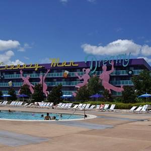 11 of 16: Disney's Pop Century Resort - 50s buildings and grounds