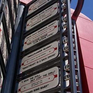 13 of 16: Disney's Pop Century Resort - 50s buildings and grounds