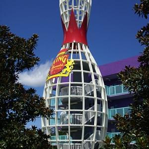 15 of 16: Disney's Pop Century Resort - 50s buildings and grounds