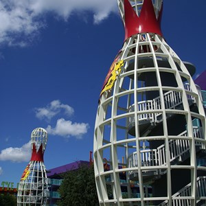 16 of 16: Disney's Pop Century Resort - 50s buildings and grounds