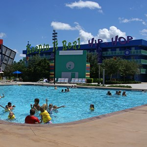 2 of 5: Disney's Pop Century Resort - 90s buildings and grounds