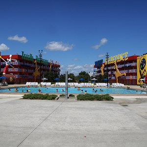 3 of 4: Disney's Pop Century Resort - Computer Pool