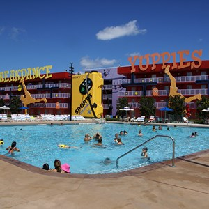 4 of 4: Disney's Pop Century Resort - Computer Pool
