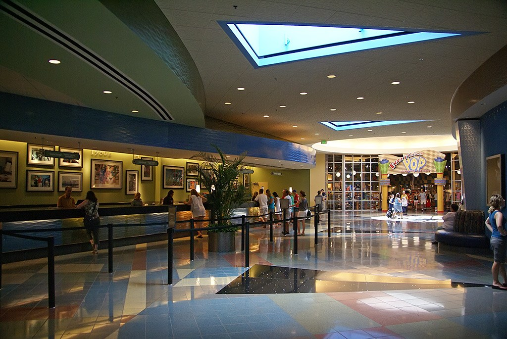 Classic Hall - registration, transportation, shopping and food court