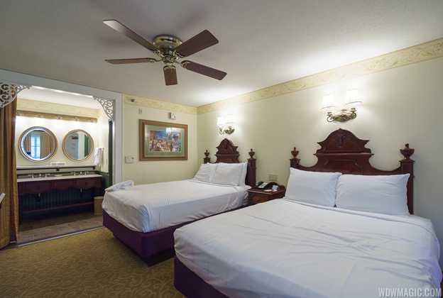 Disney's Port Orleans Resort French Quarter guest room