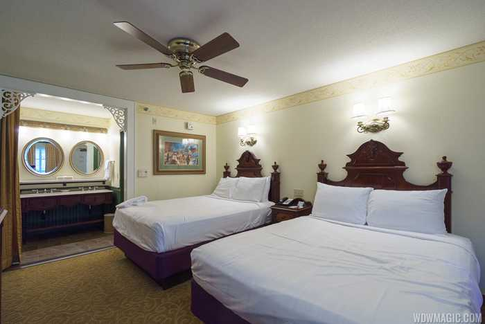 Disney's Port Orleans Resort French Quarter guest room