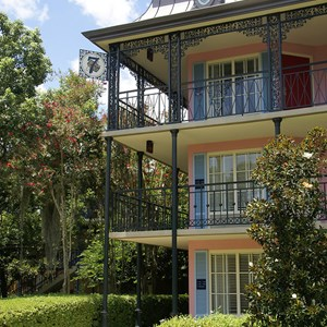 2 of 24: Disney's Port Orleans Resort French Quarter - Disney's Port Orleans French Quarter grounds and buildings