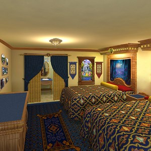 1 of 3: Disney's Port Orleans Resort Riverside - New concept art released April 26 2011