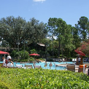 1 of 10: Disney's Port Orleans Resort Riverside - Port Orleans Riverside Ol' Man Island pool
