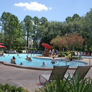 2 of 10: Disney's Port Orleans Resort Riverside - Port Orleans Riverside Ol' Man Island pool