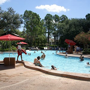 3 of 10: Disney's Port Orleans Resort Riverside - Port Orleans Riverside Ol' Man Island pool