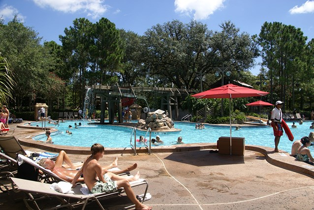 Disney's Port Orleans Resort Riverside - Port Orleans Riverside Ol' Man Island pool