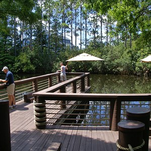 4 of 4: Disney's Port Orleans Resort Riverside - The Fishin' Hole deck