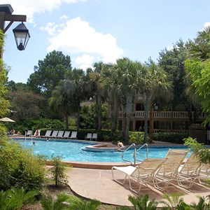 2 of 6: Disney's Port Orleans Resort Riverside - Alligator Bayou quiet pools