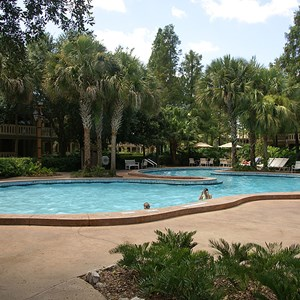 3 of 6: Disney's Port Orleans Resort Riverside - Alligator Bayou quiet pools