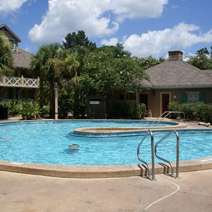 5 of 6: Disney's Port Orleans Resort Riverside - Alligator Bayou quiet pools