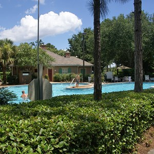 6 of 6: Disney's Port Orleans Resort Riverside - Alligator Bayou quiet pools