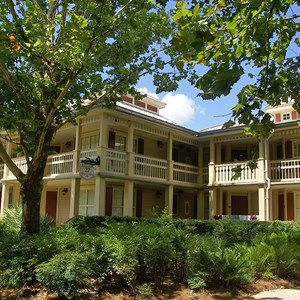 6 of 24: Disney's Port Orleans Resort Riverside - Alligator Bayou grounds and buildings