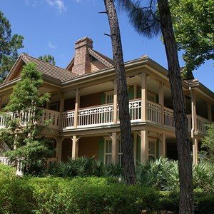 8 of 24: Disney's Port Orleans Resort Riverside - Alligator Bayou grounds and buildings
