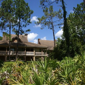 11 of 24: Disney's Port Orleans Resort Riverside - Alligator Bayou grounds and buildings