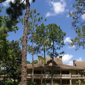 10 of 24: Disney's Port Orleans Resort Riverside - Alligator Bayou grounds and buildings