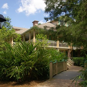 18 of 24: Disney's Port Orleans Resort Riverside - Alligator Bayou grounds and buildings