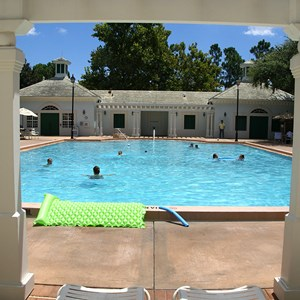3 of 8: Disney's Port Orleans Resort Riverside - Magnolia Bend quiet pools