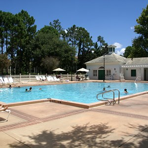 4 of 8: Disney's Port Orleans Resort Riverside - Magnolia Bend quiet pools